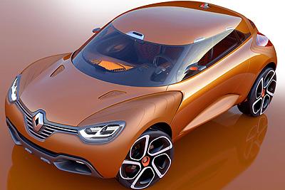Renault CAPTUR. Prototipo 2011.