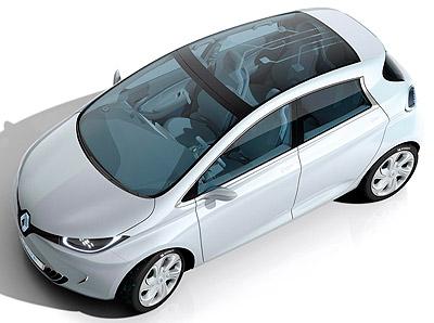 Renault ZOE. Prototipo 2010.