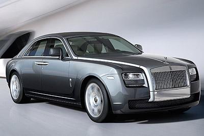 Rolls-Royce Ghost. Modelo 2010