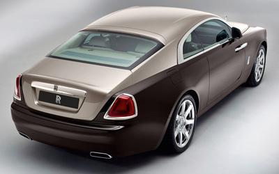 Rolls-Royce Wraith. Modelo 2013