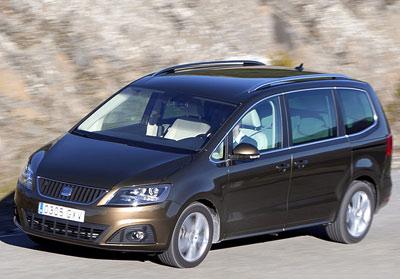 SEAT Alhambra. Modelo 2010.