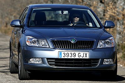 Škoda Octavia. Modelo 2009.