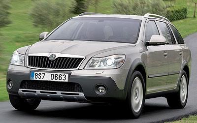 Škoda Scout. Modelo 2010.
