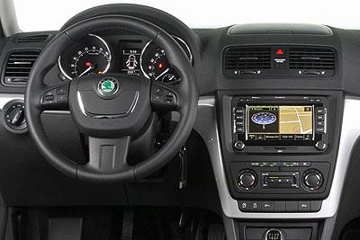 Škoda Yeti. Modelo 2009.