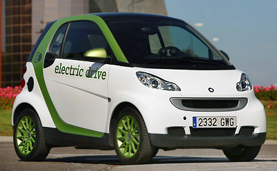 smart fortwo electric drive. Modelo 2010.