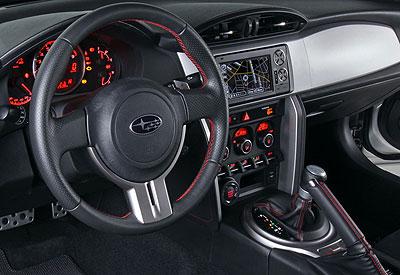Subaru BRZ. Modelo 2012