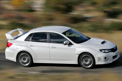 Subaru WRX STI. Modelo 2011.