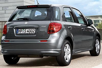 Suzuki SX4. Modelo 2010