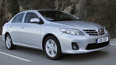 Toyota Corolla. Modelo 2010
