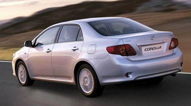 Toyota Corolla Sedan. Modelo 2007.