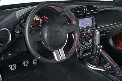 Toyota GT86. Modelo 2012