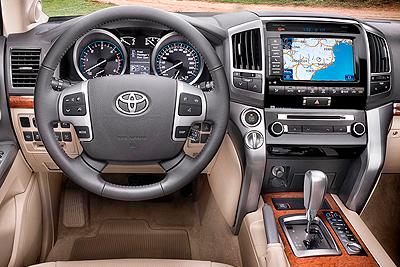 Toyota Land Cruiser 200. Modelo 2008.
