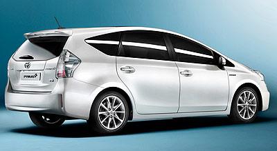 Toyota Prius+. Modelo 2012.