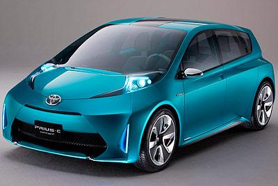 Toyota Prius c Concept. Prototipo 2011.