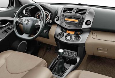 Toyota RAV4. Modelo 2010.
