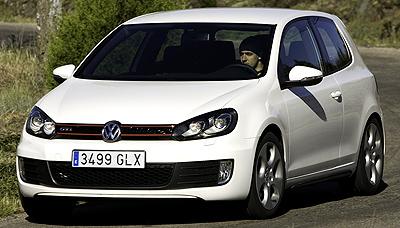 Volkswagen Golf GTI. Modelo 2009.