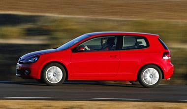 Volkswagen Golf. Modelo 2009
