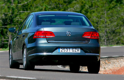 Volkswagen Passat. Modelo 2011.