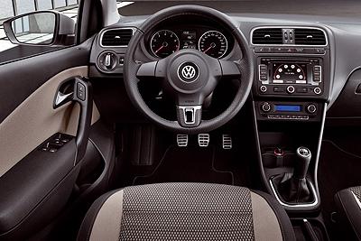 Volkswagen CrossPolo. Modelo 2010