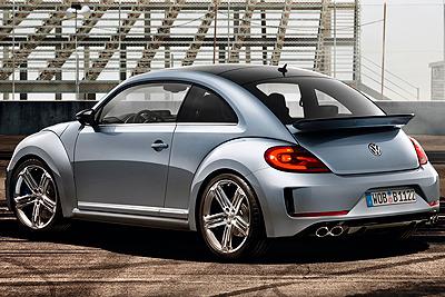 Volkswagen Beetle R Concept. Prototipo 2011.