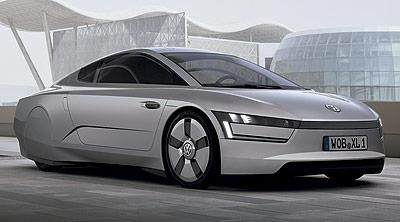 Volkswagen Studie XL1. Prototipo 2011.