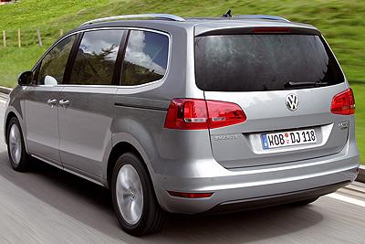 Volkswagen Sharan. Modelo 2010.