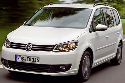 Volkswagen Touran. Modelo 2010.