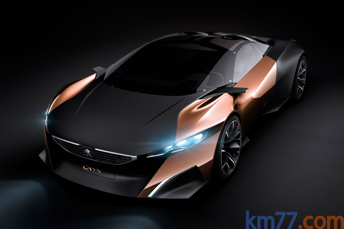 PEUGEOT ENTRA A LOS SUPERDEPORTIVOS: Peugeot Onyx Concept (híbrido) 5