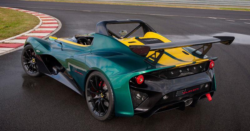 Lotus 3-Eleven 2016. Imágenes.
