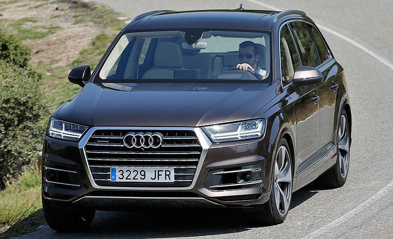 Audi Q7 2015 , frontal