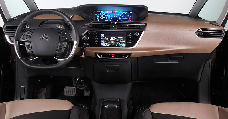 Citroen Grand C4 Pico Interior - Data SET •