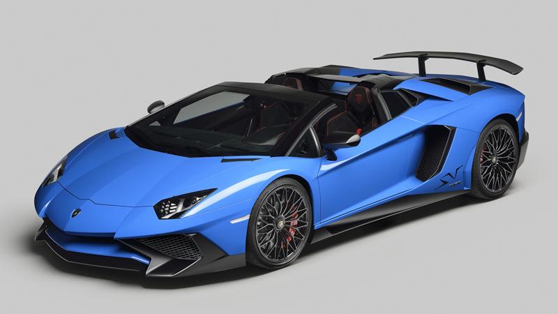 Lamborghini Aventador LP 750-4 SV Roadster 2015