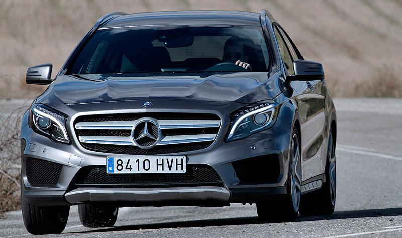 Mercedes-Benz Clase GLA. Modelo 2014