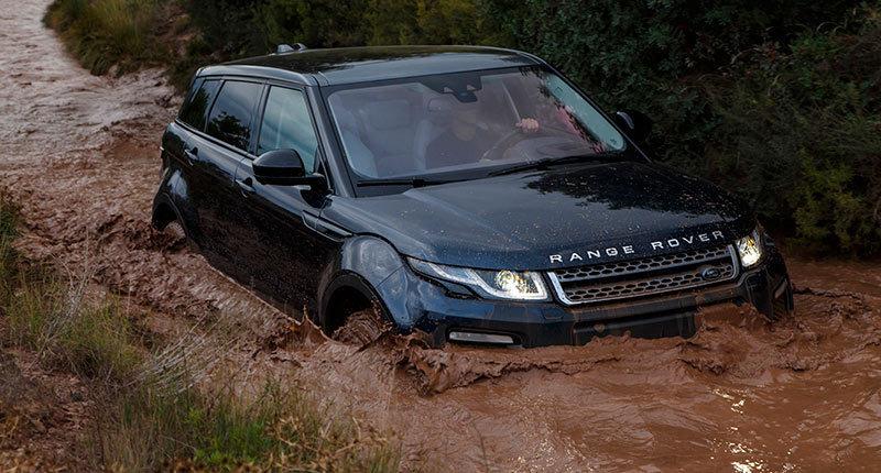Land Rover Range Rover Evoque 2015. Imágenes exteriores