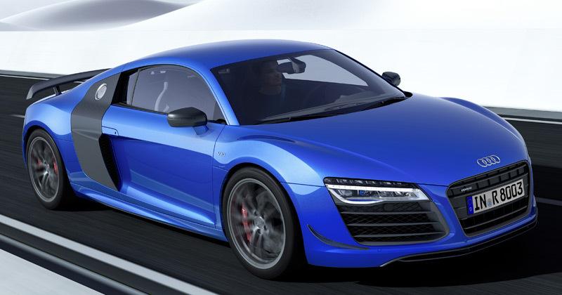 Audi R8 LMX. Modelo 2014.