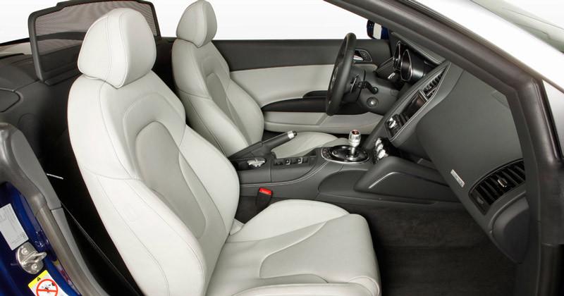 Audi R8 V8 Spyder. Modelo 2012