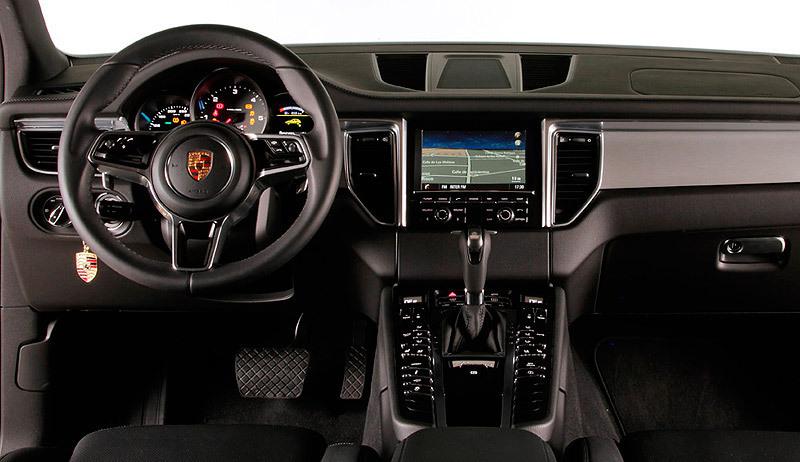 Porsche Macan interior salpicadero. Modelo 2014.