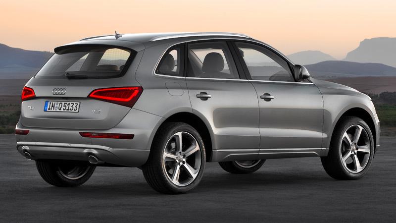Audi Q5 2012. Imágenes exteriores