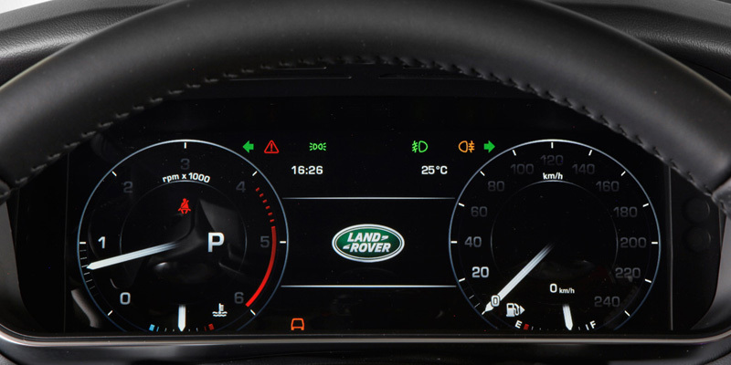 HSE Instrument Panel (Speed/RPM/Nav/Messages) same as the HSE Dynamic?