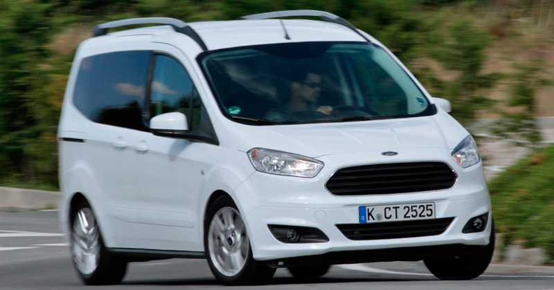 Ford Tourneo Courier. Modelo 2014