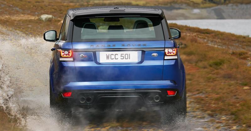 Land Rover Range Rover Sport SVR. Modelo 2015