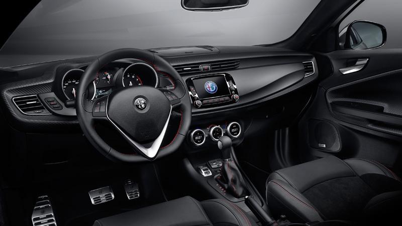 Alfa Romeo Giulietta 2016. Imágenes interiores