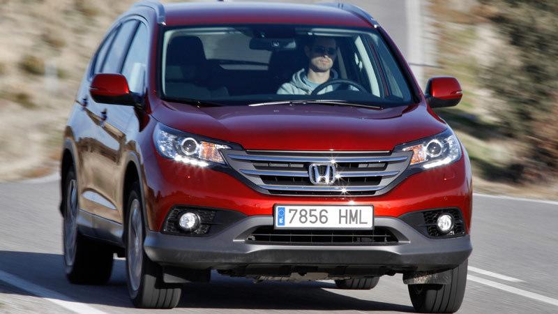 Honda CR-V. Modelo 2013