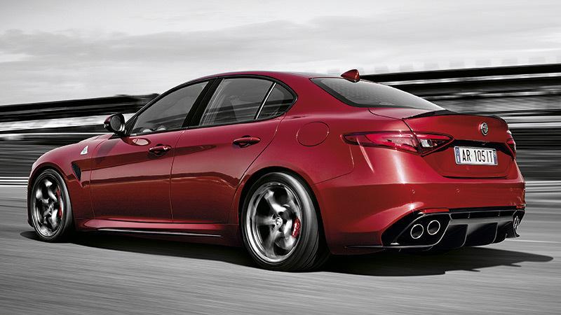 Alfa Romeo Giulia. Imágenes exteriores.