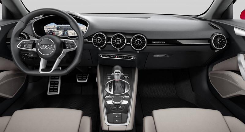 Audi TT Sporback concept. Interior.