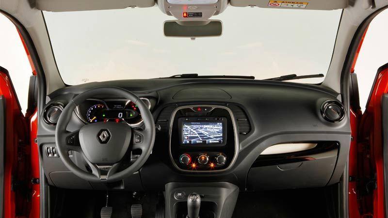 Renault Captur. Salpicadero