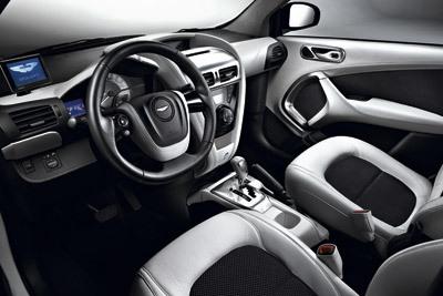 Aston Martin Cygnet. Modelo 2011