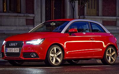 Audi A1. Modelo 2010