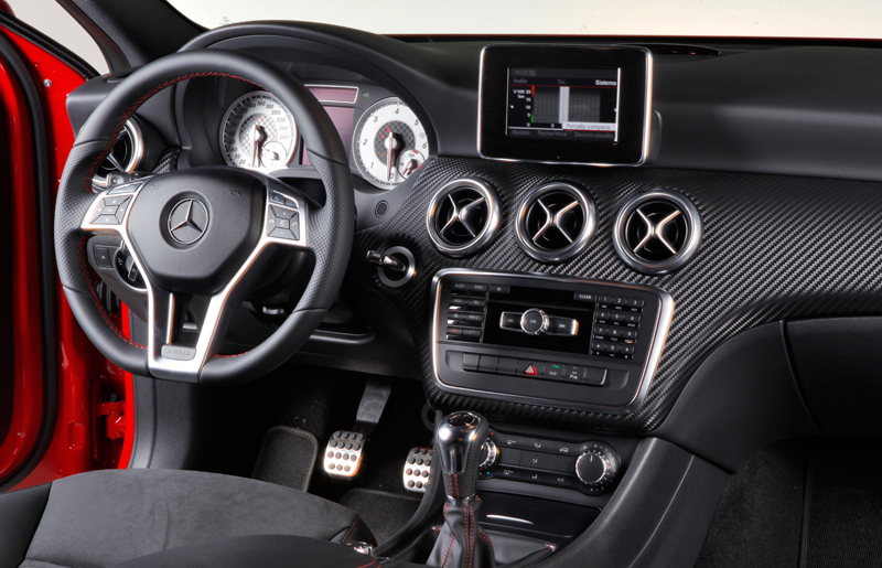 Mercedes benz clase a 2012 informaci n general for Interior mercedes clase a