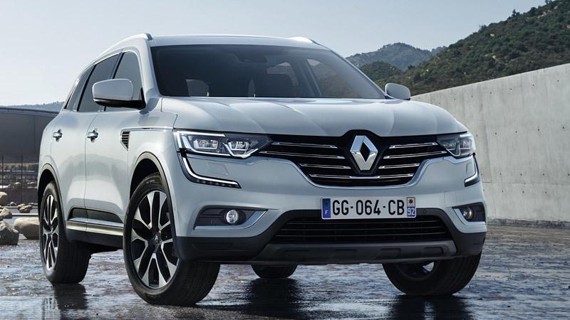Renault Koleos 2017. Imágenes exteriores